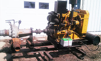 CAT 207-1073 4 CYLINDER ENGINE SALES MODEL #3054 85